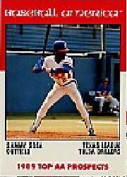 1989 Baseball America AA Prospects Best #AA29 Sammy Sosa