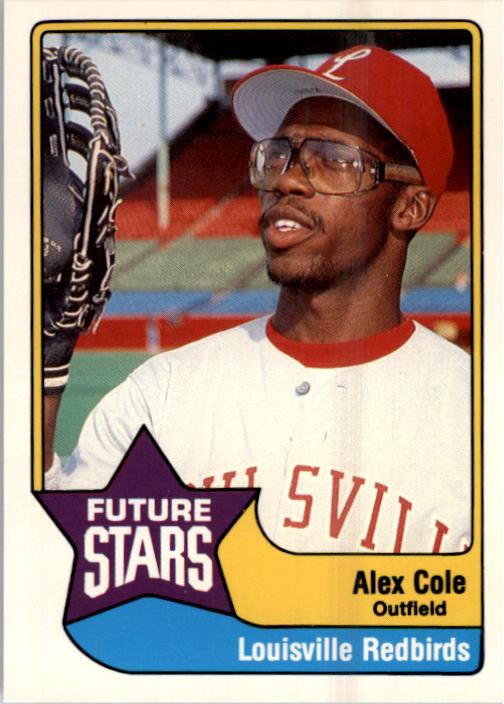 1990 Triple A All-Stars CMC #14 Alex Cole