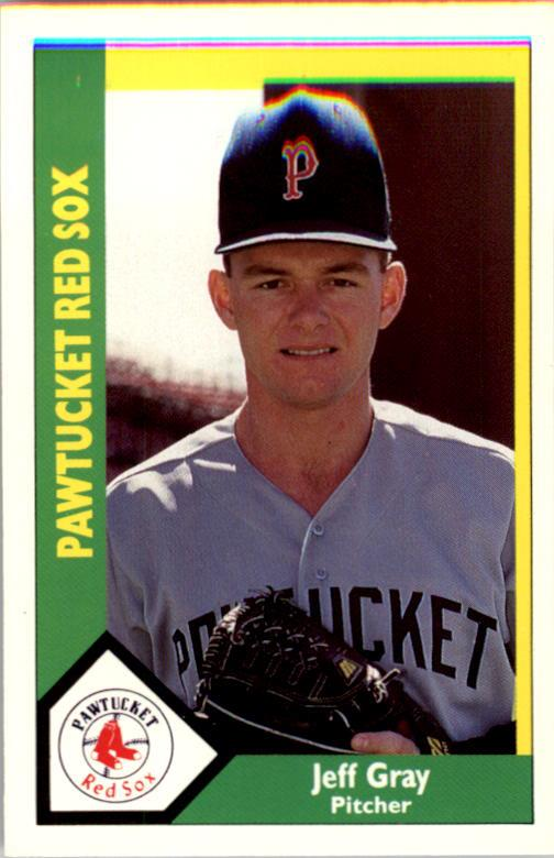 1990 Pawtucket Red Sox CMC #25 Jeff Gray