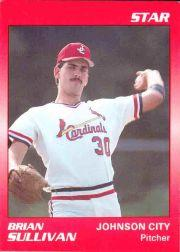 1990 Johnson City Cardinals Star #26 Brian Sullivan