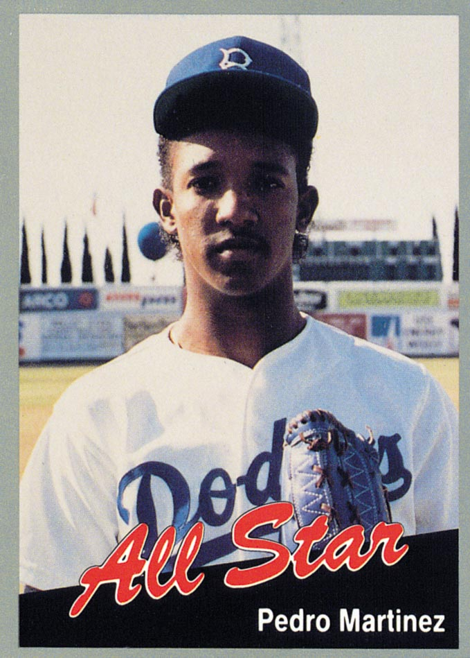 1991 California League All-Stars #2 Pedro Martinez