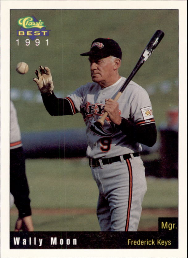 1991 Frederick Keys Classic/Best #26 Wally Moon MGR