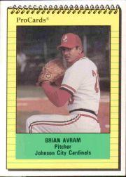 1991 Johnson City Cardinals ProCards #3968 Brian Avram