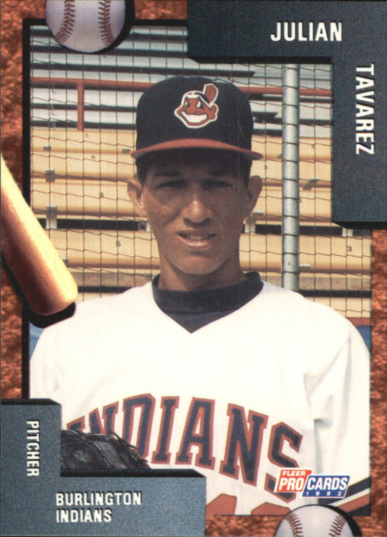 1992 Burlington Indians Fleer/ProCards #1657 Julian Tavares