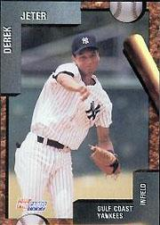 1992 Gulf Coast Yankees Fleer/ProCards #3797 Derek Jeter