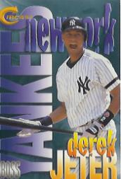 1993 Greensboro Hornets Fleer/ProCards #893 Derek Jeter