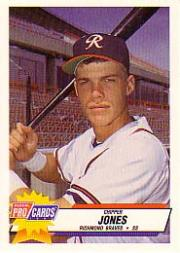 1993 Triple A All-Stars Fleer/ProCards #1 Chipper Jones