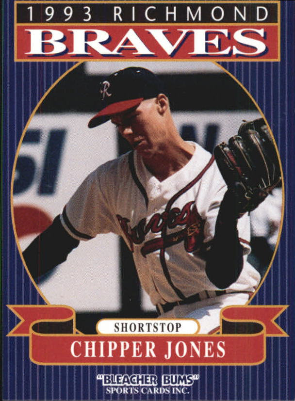 1993 Richmond Braves Bleacher Bums #13 Chipper Jones