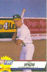 1993 Southern Oregon A's Fleer/ProCards #4074 Scott Spiezio