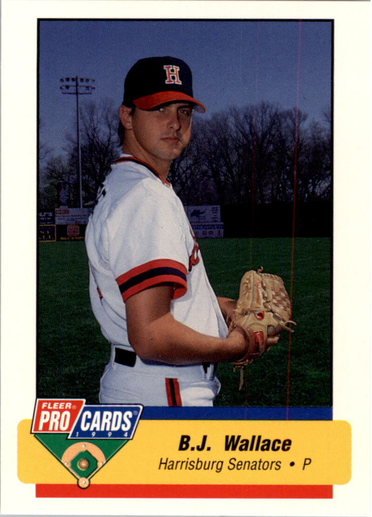1994 Harrisburg Senators Fleer/ProCards #2093 B.J. Wallace