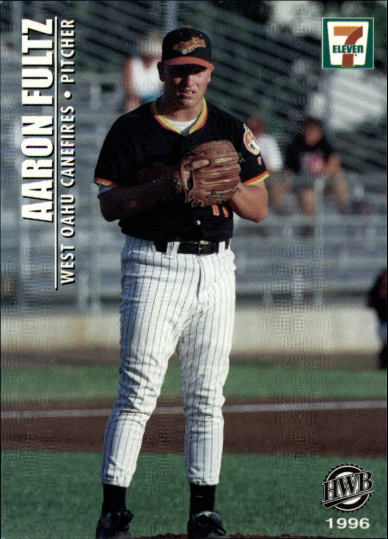 1996 West Oahu Canefires Hawaii Winter Ball #18 Aaron Fultz