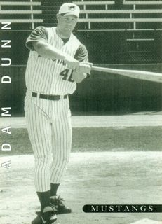 1998 Billings Mustangs Team Issue #10 Adam Dunn