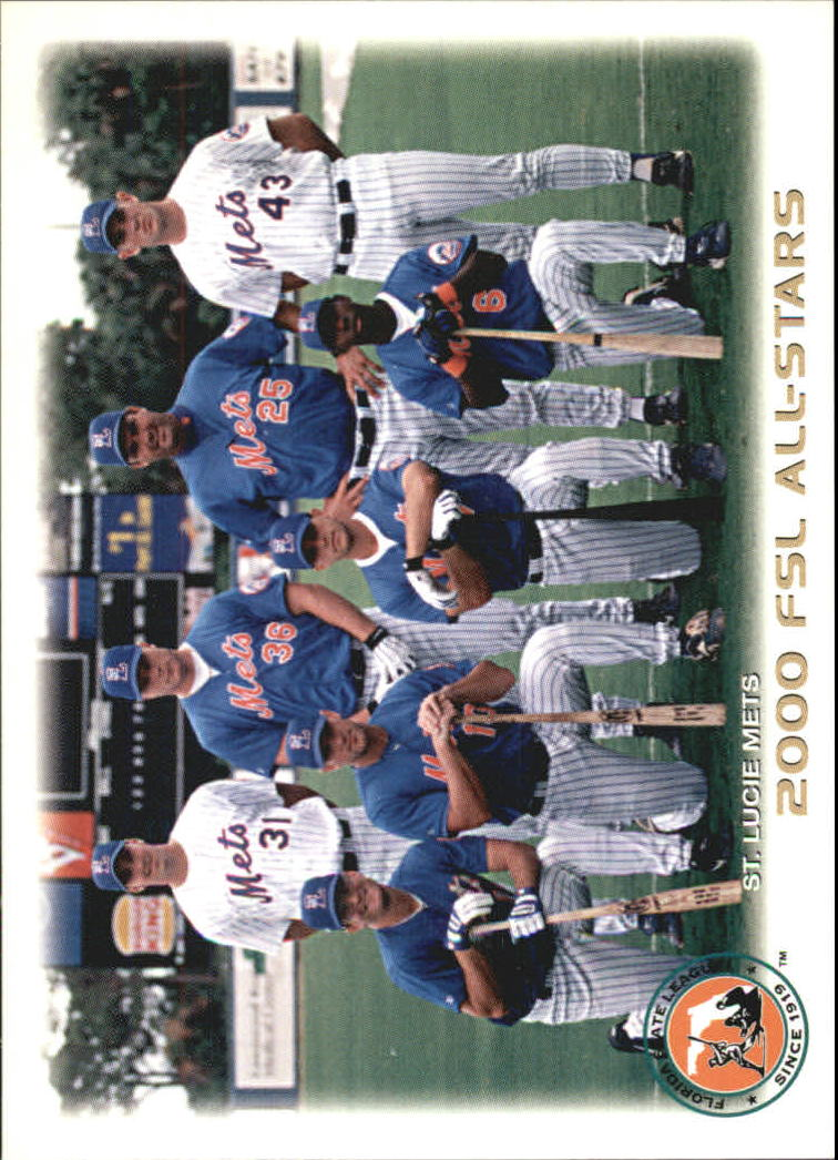 2000 St. Lucie Mets Grandstand #1 Cook/Stratton/Engle/Strange/Phillips/Burns/Snyder/Cole