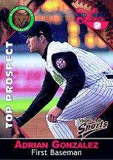 2001 Midwest League Top Prospect Multi-Ad #15 Adrian Gonzalez