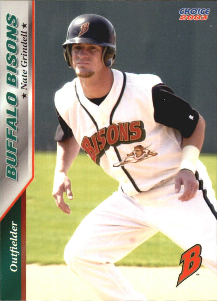 2003 Buffalo Bisons Choice #9 Nate Grindell