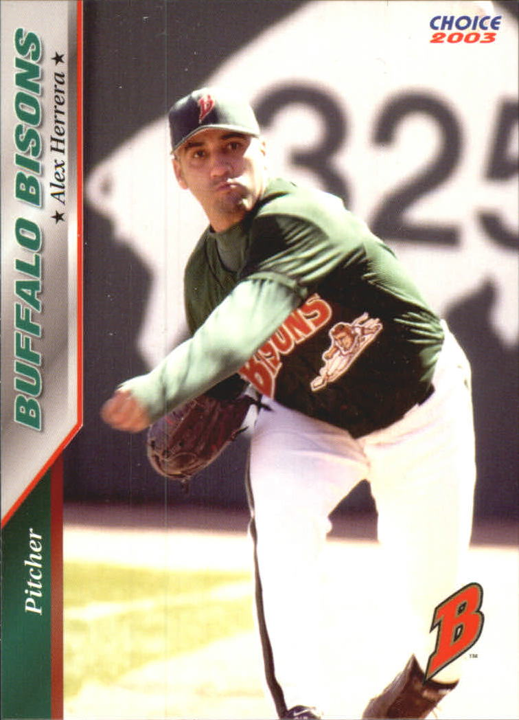 2003 Buffalo Bisons Choice #12 Alex Herrera