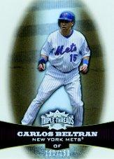 2006 Topps Triple Threads Sepia #39 Carlos Beltran