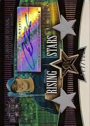 2006 Topps Triple Threads Sepia #111 Aaron Hill AU J-J