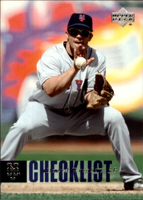 2006 Upper Deck #886 David Wright CL