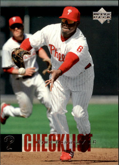 2006 Upper Deck #890 Ryan Howard CL