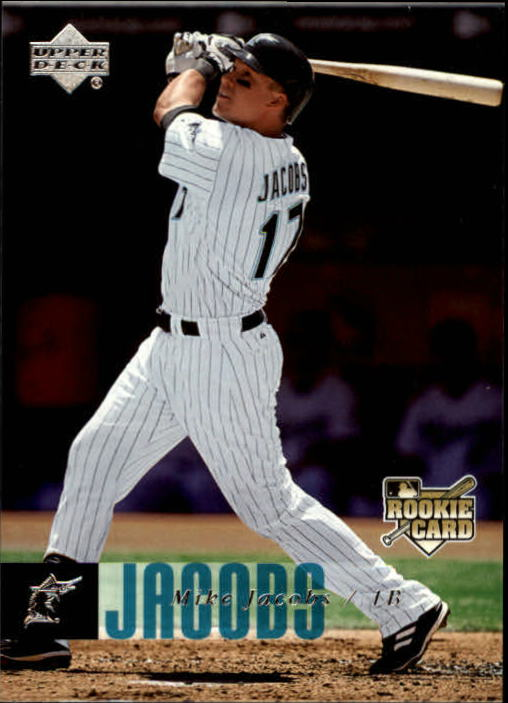 2006 Upper Deck #930 Mike Jacobs (RC)
