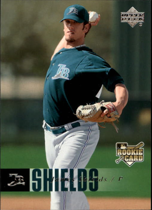 2006 Upper Deck #981 Jamie Shields RC