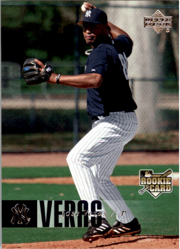 2006 Upper Deck #1140 Jose Veras RC