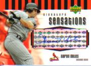2006 Upper Deck Signature Sensations #AM Aaron Miles