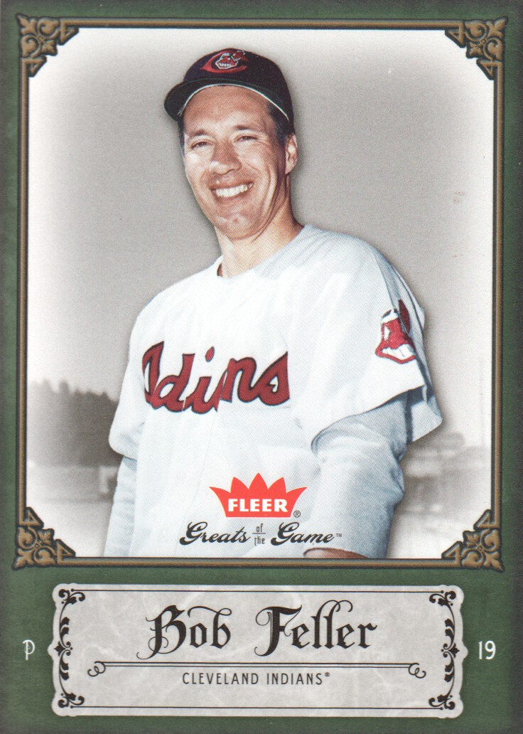 2006 Greats of the Game #11 Bob Feller