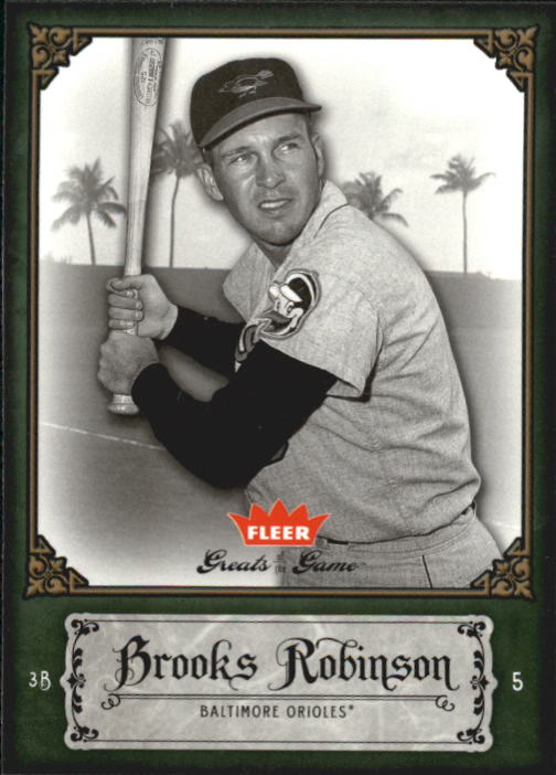 2006 Greats of the Game #16 Brooks Robinson