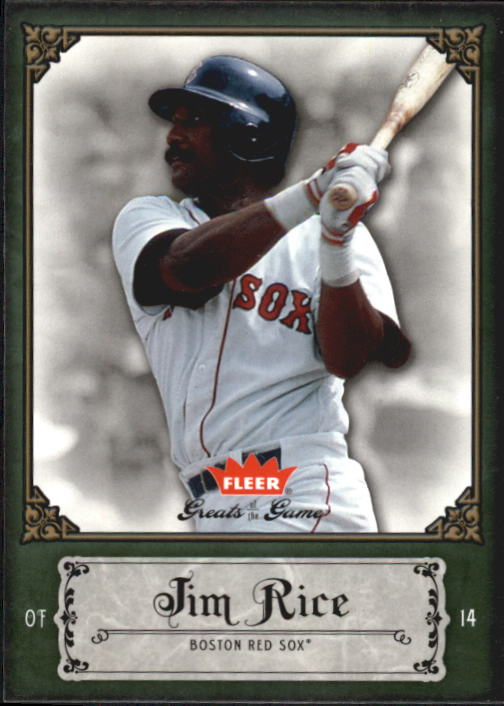 2006 Greats of the Game #51 Jim Rice