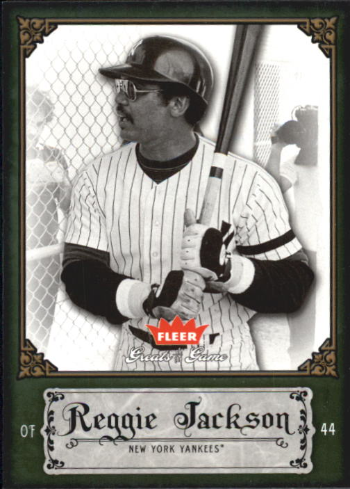 2006 Greats of the Game #75 Reggie Jackson