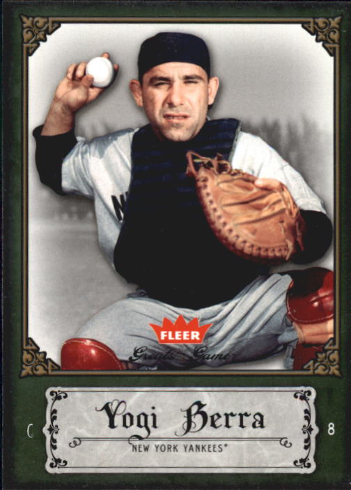 2006 Greats of the Game #100 Yogi Berra