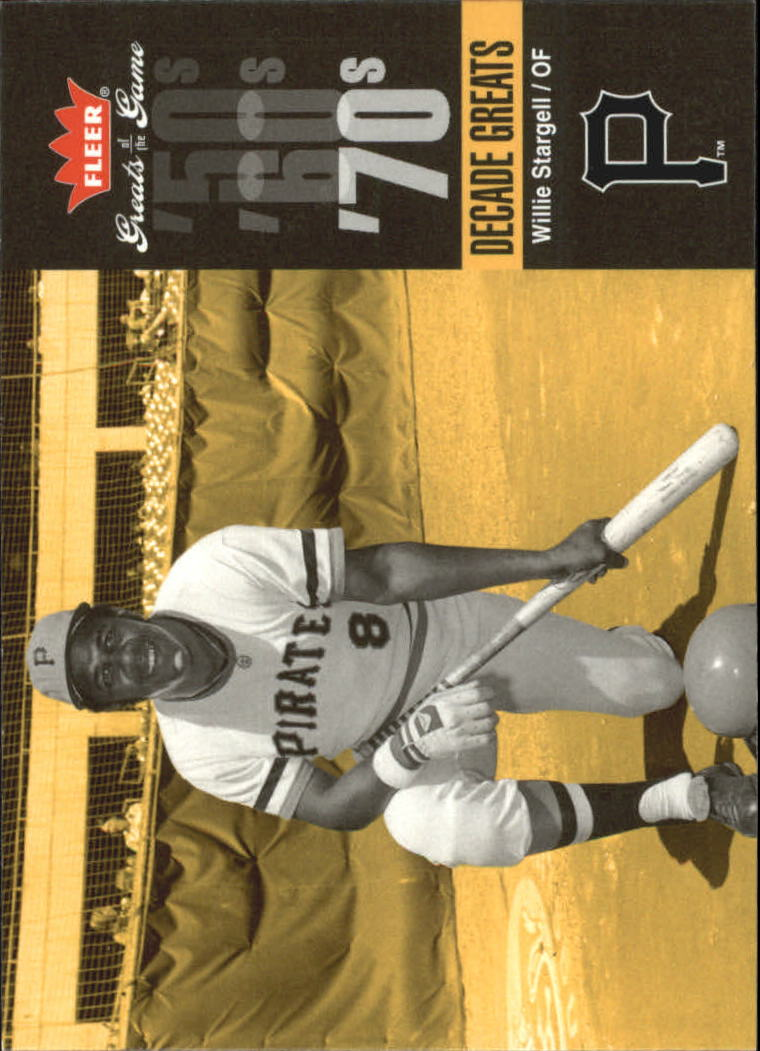 2006 Greats of the Game Decade Greats #WS Willie Stargell