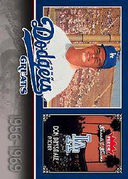 2006 Greats of the Game Dodger Greats #DD Don Drysdale