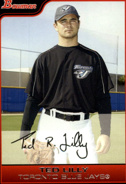 2006 Bowman #2 Ted Lilly front image