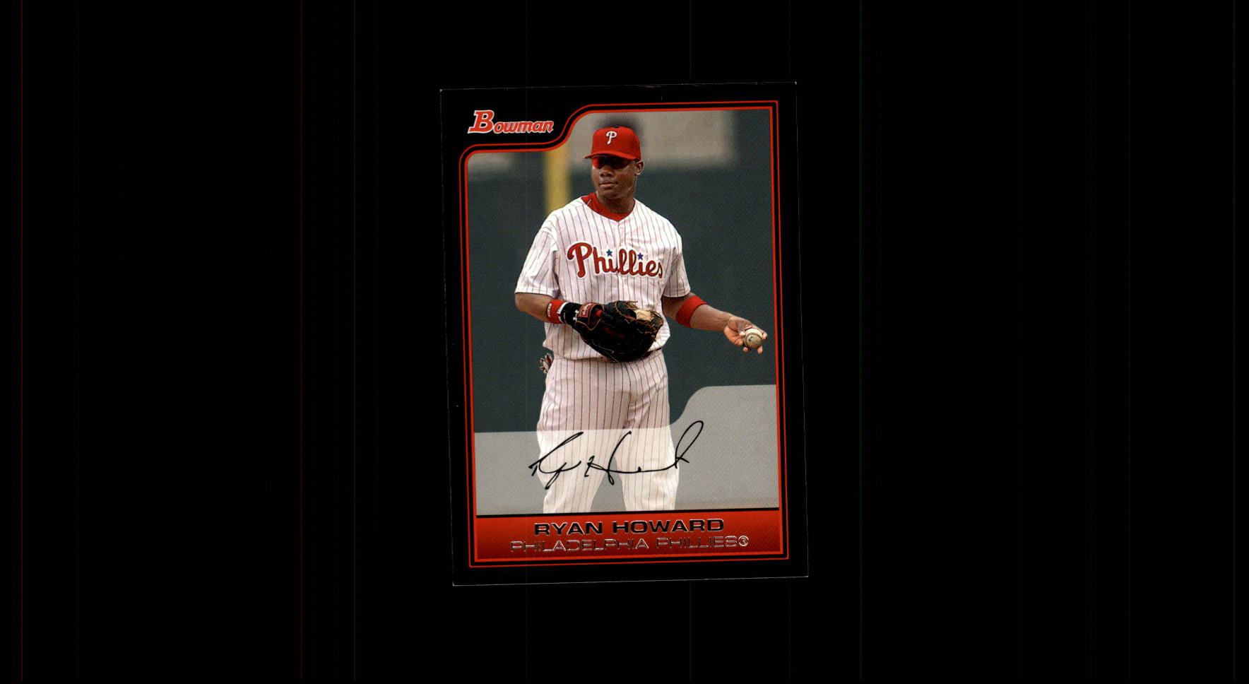 2006 Bowman #57 Ryan Howard