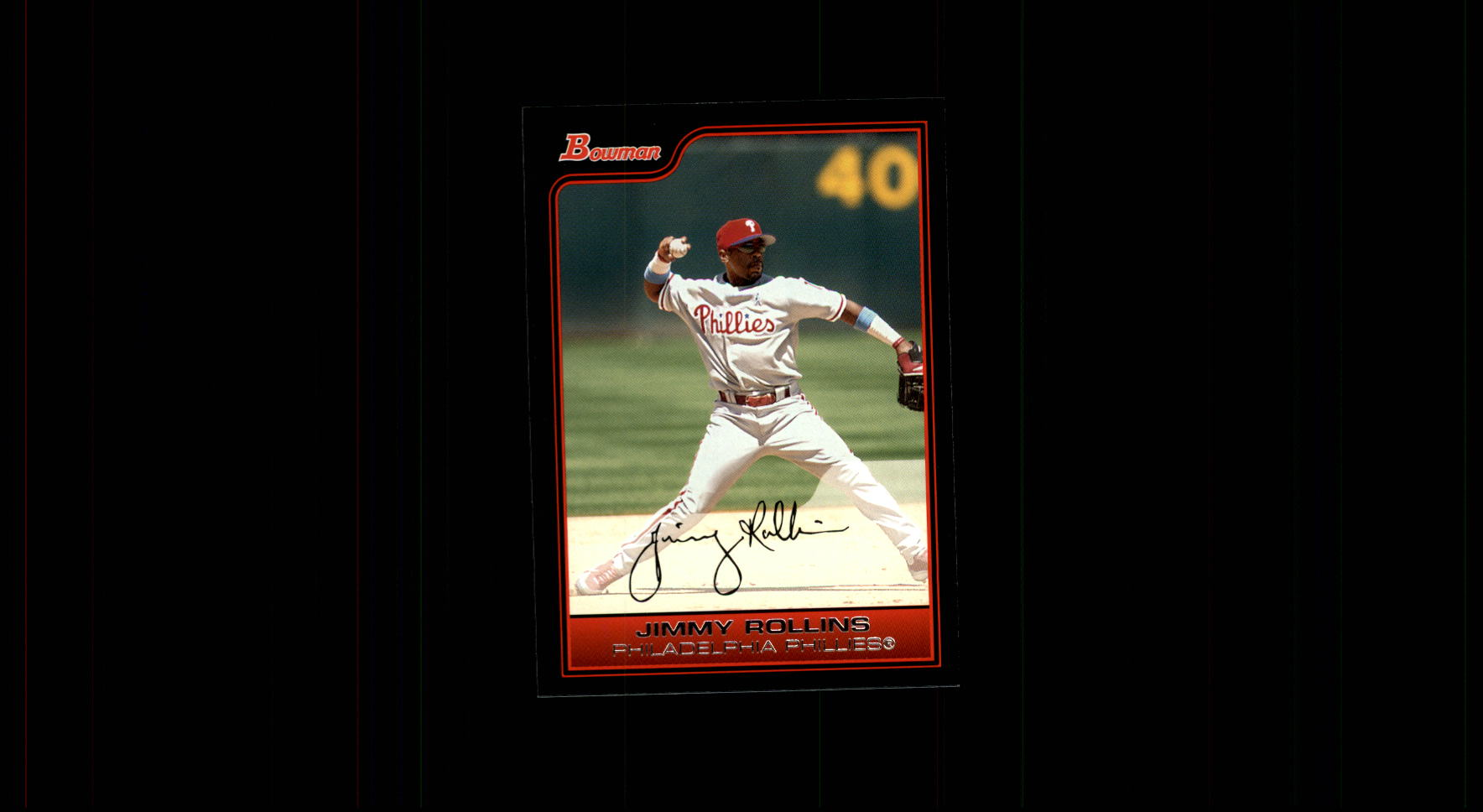 2006 Bowman #73 Jimmy Rollins