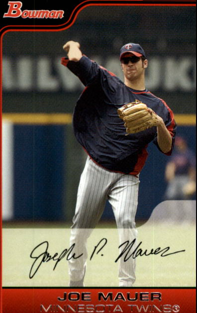 2006 Bowman #164 Joe Mauer