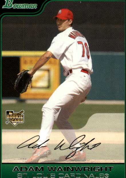 2006 Bowman #214 Adam Wainwright (RC)