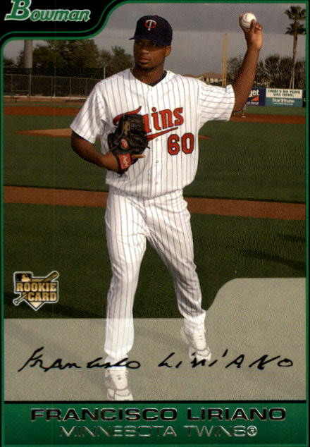 2006 Bowman #218 Francisco Liriano (RC)
