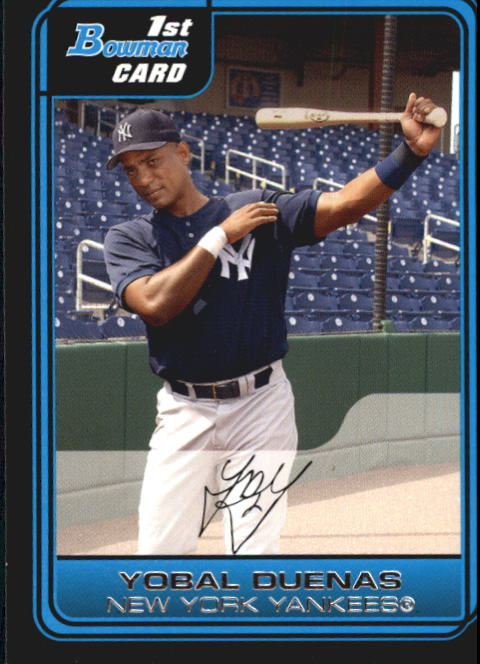 2006 Bowman Prospects #B80 Yobal Duenas