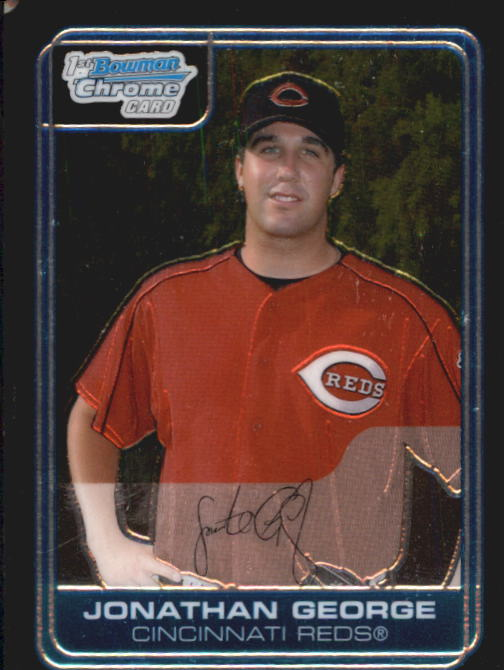 2006 Bowman Chrome Prospects #BC2 Jonathan George