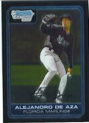 2006 Bowman Chrome Prospects #BC8 Alejandro de Aza