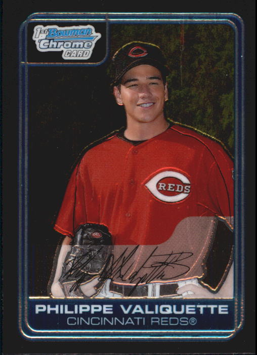 2006 Bowman Chrome Prospects #BC11 Philippe Valiquette