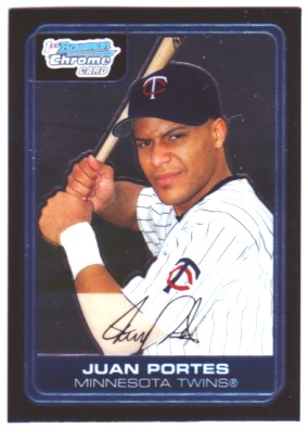 2006 Bowman Chrome Prospects #BC37 Juan Portes
