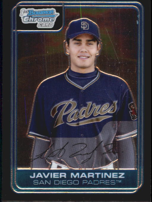 2006 Bowman Chrome Prospects #BC38 Javier Martinez