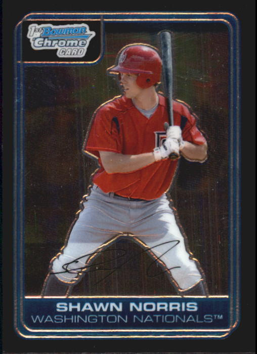 2006 Bowman Chrome Prospects #BC43 Shawn Norris