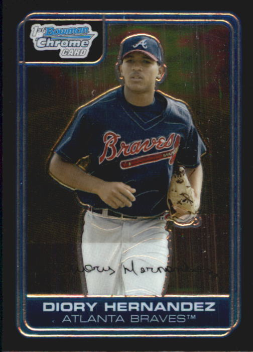 2006 Bowman Chrome Prospects #BC44 Diory Hernandez