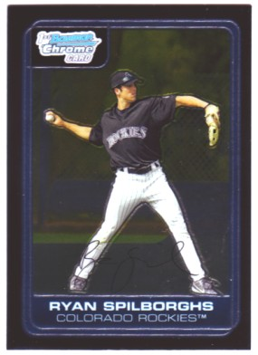 2006 Bowman Chrome Prospects #BC56 Ryan Spilborghs